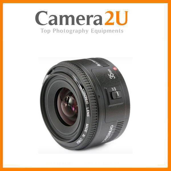 Yongnuo YN 35mm f/2 Lens for Canon DSLR Camera
