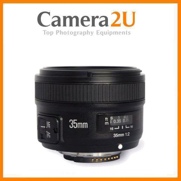New Yongnuo YN 35mm F2.0 Lens for Nikon DSLR Camera