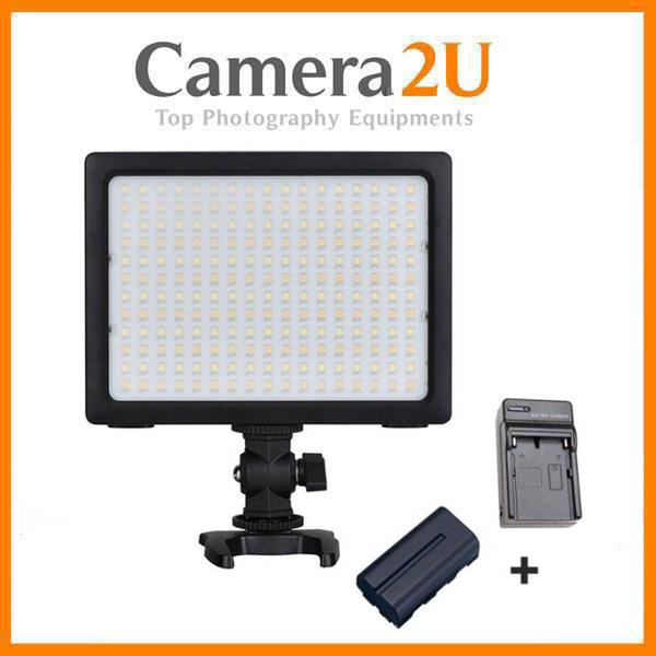 Yongnuo YN204 LED Video Light + Battery + Charger
