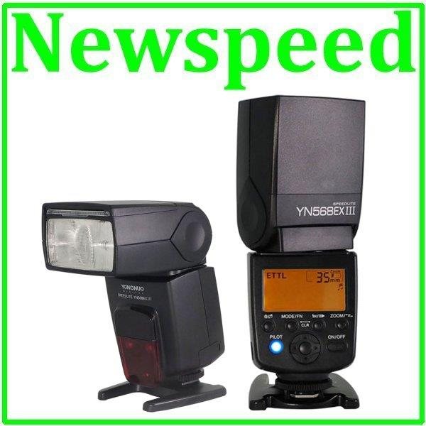 Yongnuo YN568 MK3 MK III Wireless TTL Speedlite Flash Light for Canon