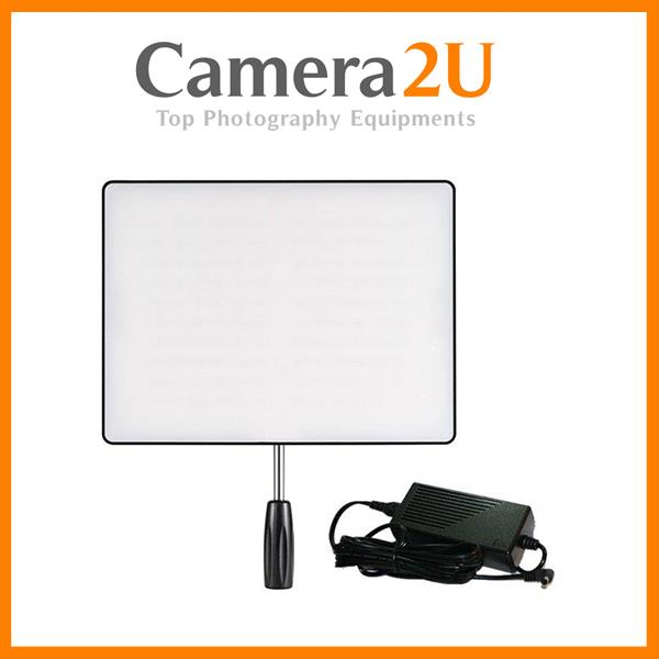 Yongnuo YN600 AIR Slim LED Video Light + Direct Power AC Adapter