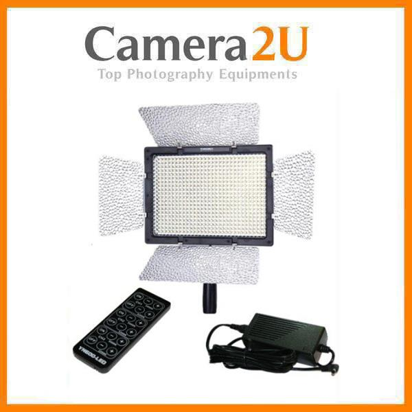 Yongnuo YN600 LED Video Light (5.5K) + Direct Power AC Adapter