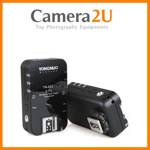 New Yongnuo YN622 Wireless TTL Flash Trigger Set for Canon Camera