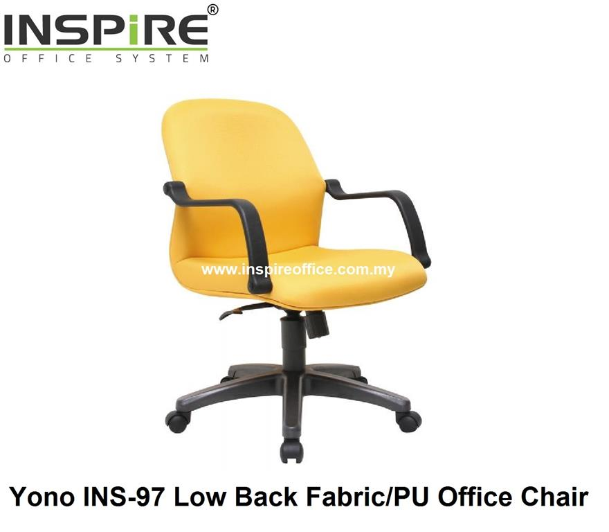 Yono INS-97 Low Back Fabric/PU Office Chair