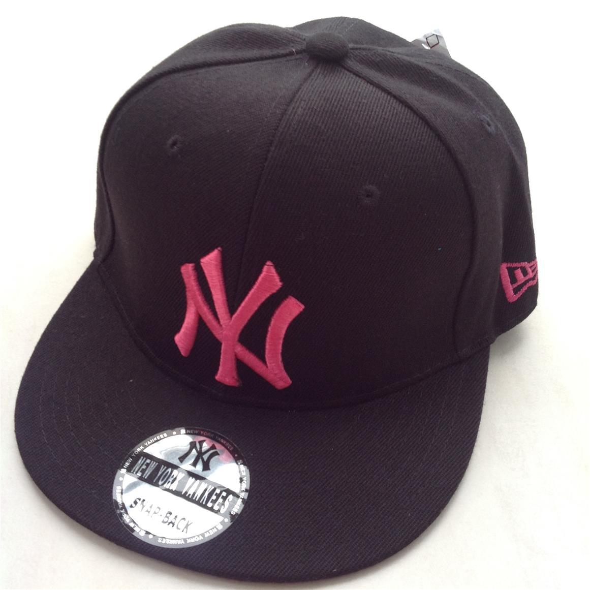 Product Description. New York Yankees Snapback Hip Hop Baseball Caps - Black 6462fc3ebe6
