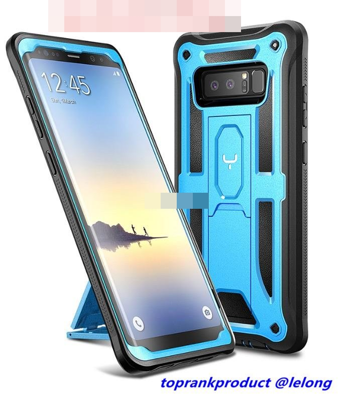 YOUMAKER Samsung Galaxy Note 8 ShakeProof Full Cover Case Casing