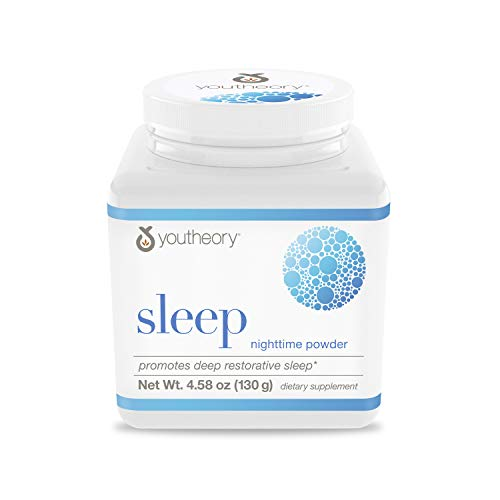 Youtheory Sleep Powder with Magnesium, 4.58 Ounce Bottle[FromUSA]