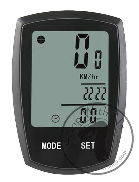 YS Wireless Cycling Meter with 22 Functions (Backlight)