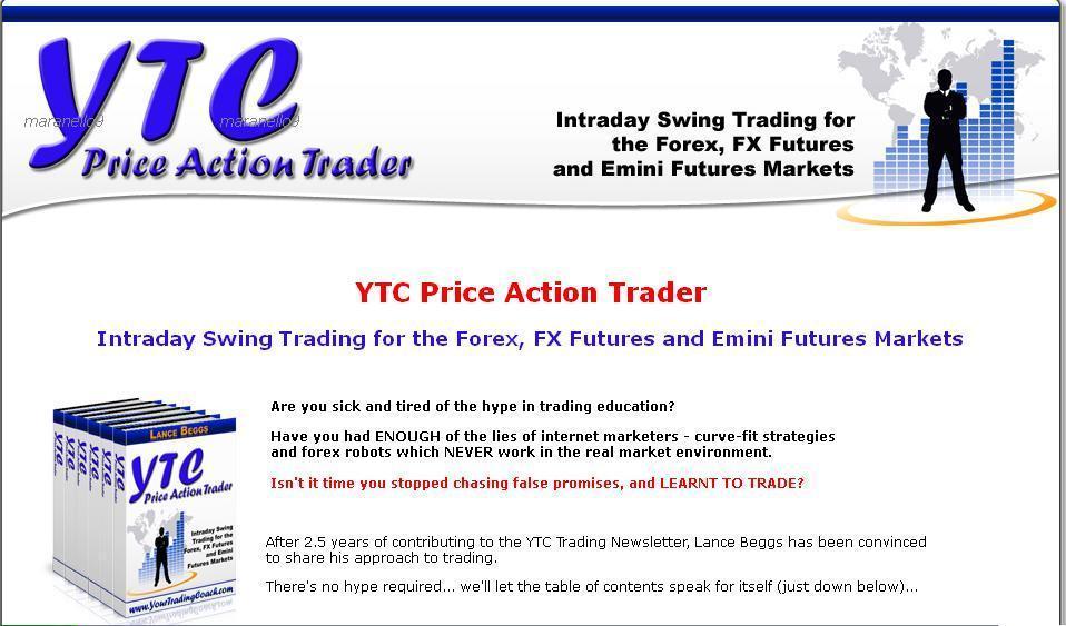 Ytc Price Action Trading Pdf