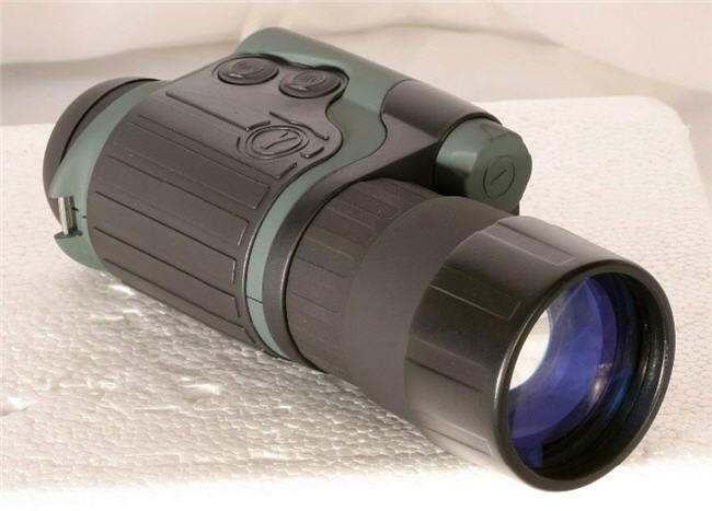 Yukon Spartan High Power 4x50 Night Vision Monoculars (WP-IR200).