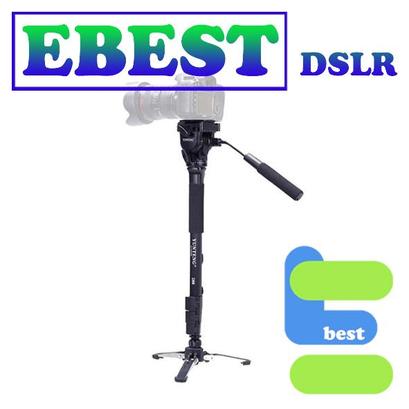 YunTeng VCT-288 Fluid Base Video Monopod with Pan Head