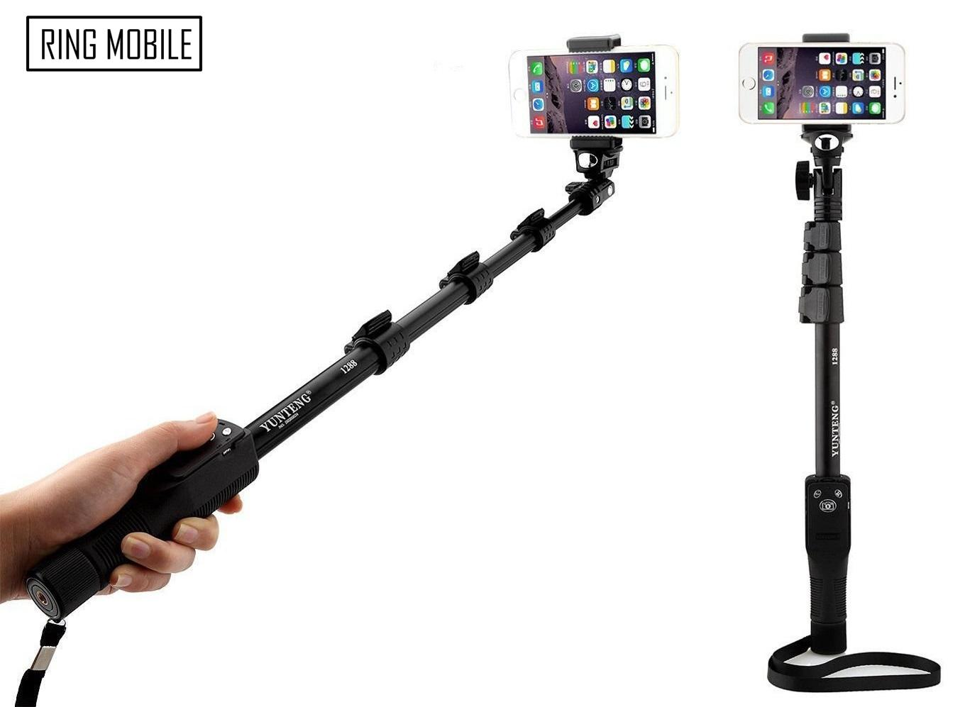 Yunteng YT-1288 Bluetooth Wireless Selfie Stick Monopod - Original. ‹ ›
