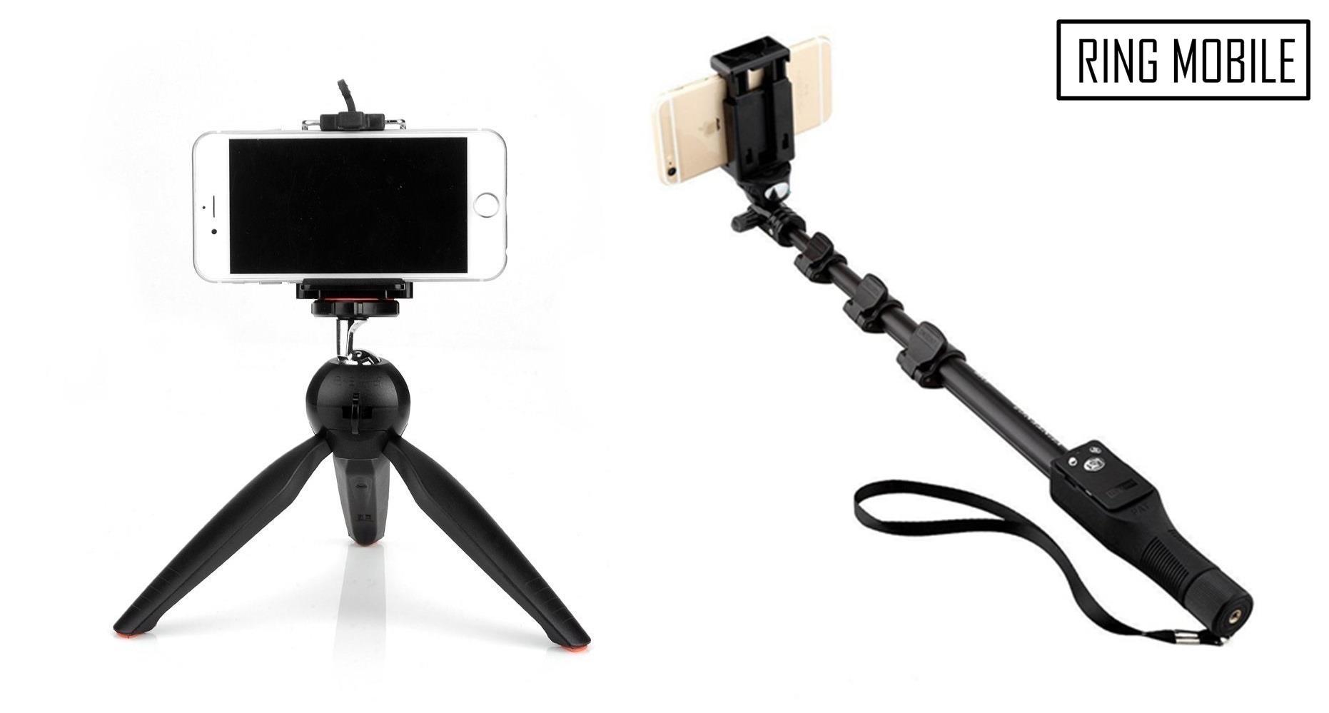 YunTeng YT-1288 Selfie Stick Monopod with YT-228 Tripod Stand. ‹ ›