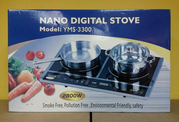 Yusho Nano Digital Stove Induction Cooker Dapur Elektrik