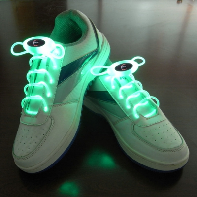YWXLight Up LED Shoelaces Fashion Flash Disco Party Glowing Neon Shoel..