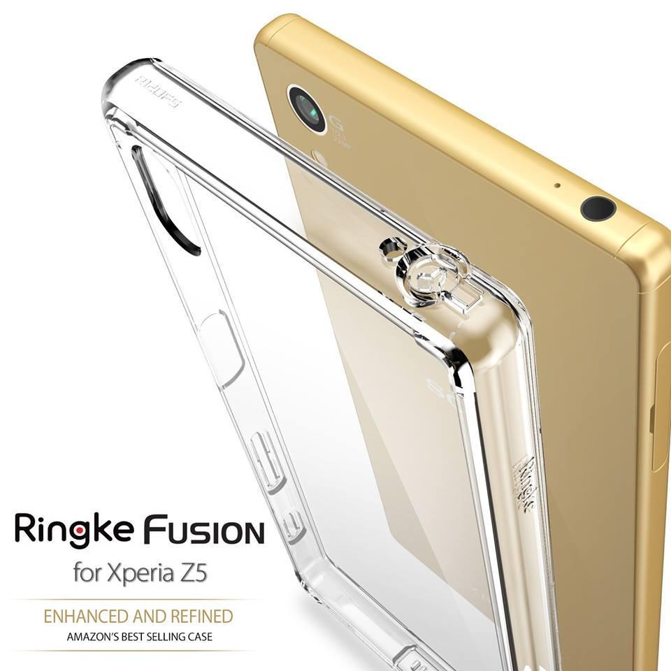 purchase cheap 2cb2e a9378 [Z5/Z5 Dual] Ori Rearth Ringke Fusion Case Sony Xperia Z5 / Z5 Dual