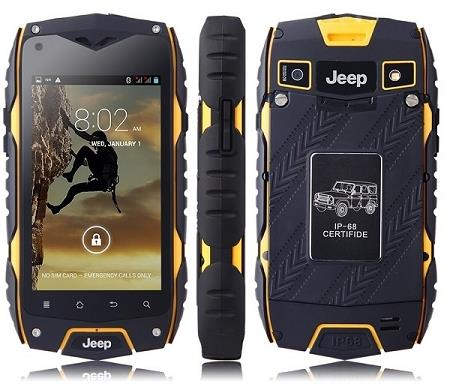 Z6 Waterproof Rugged 3G Dual Sim Smartphone (WP-Z6).