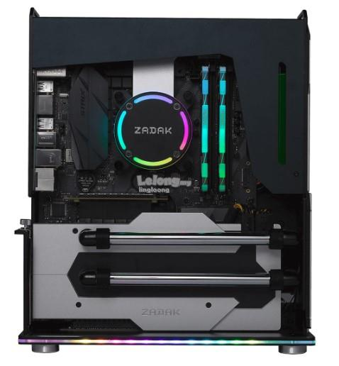 # ZADAK MOAB II Water Cooled PC # Silver Black Color