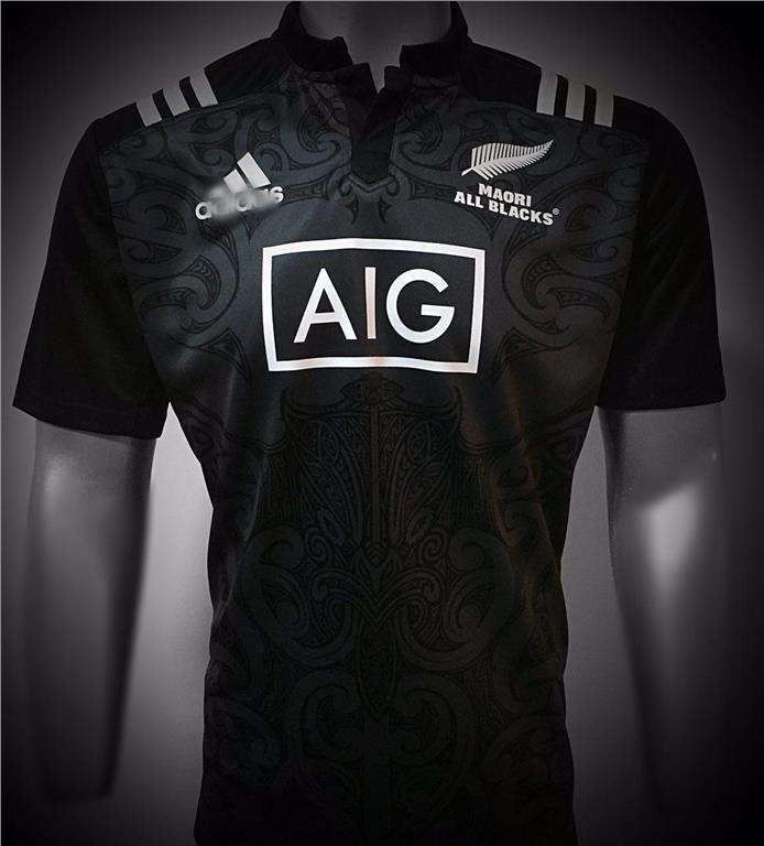 67ee12bac36 New Zealand All Blacks Maori 2017 Champion Rugby Jersey Shirt Top. ‹ ›