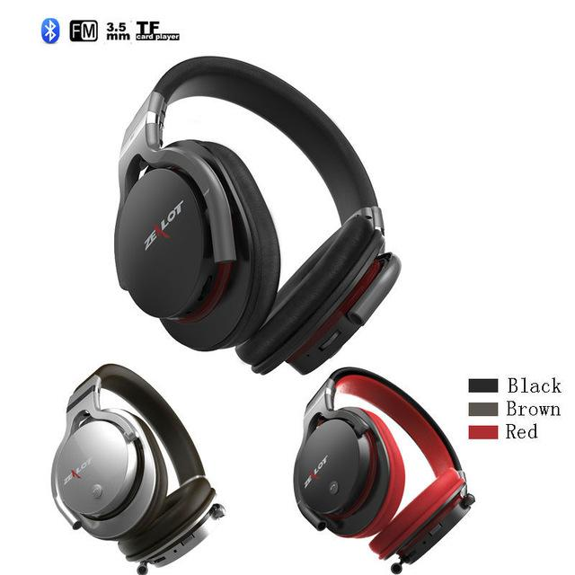 bc95175d5fc ZEALOT B5 Classic Style Wireless/Wired Over Ear Bluetooth Headset. ‹ ›