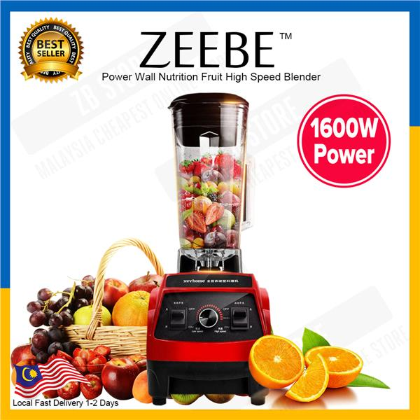 ZEEBE 1600W Power Juicer Wall Full Nutrition Fruit High Speed Blender