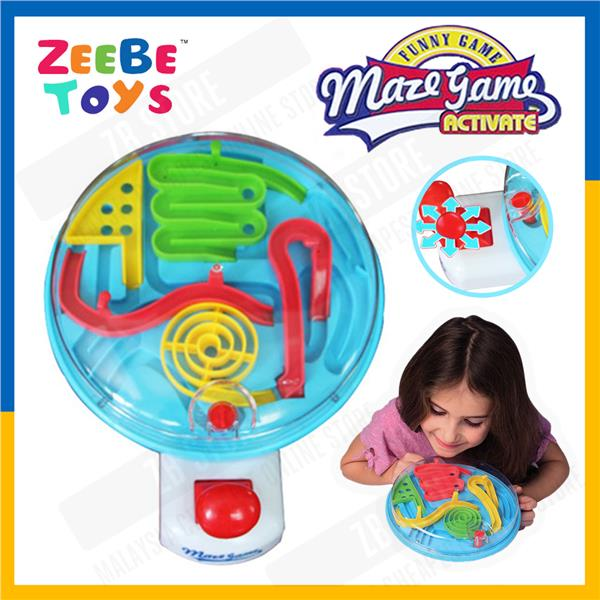 ZEEBE 3D Maze Ball Children Puzzle Game Minimum Assembly with Control