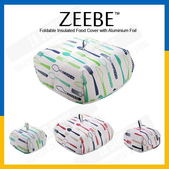 Zeebe Foldable Insulated Food Cover With Aluminium Foil Hot Food