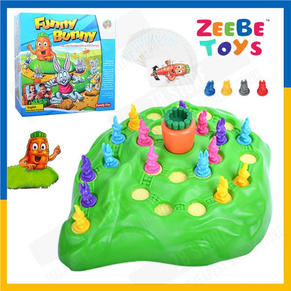 ZEEBE Funny Bunny Rabbit Competitive Game Desktop Playing Toy Kids