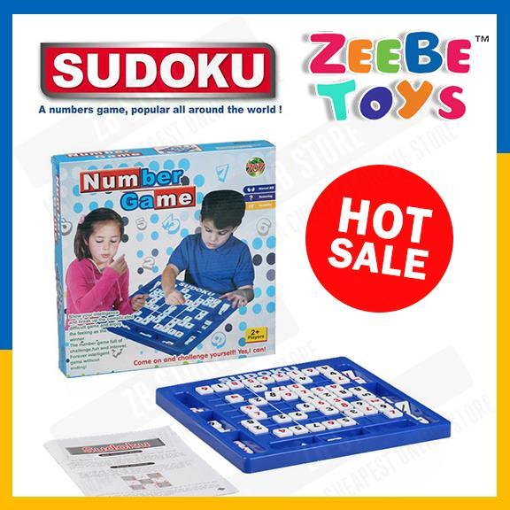 ZEEBE Sudoku Number Game Table Board Number Puzzle Game Toy