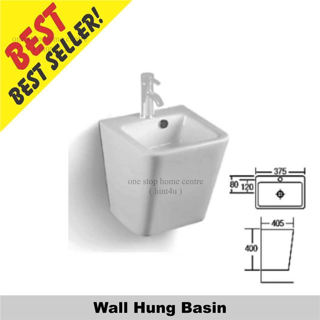 Zella L702 Wall Hung Basin