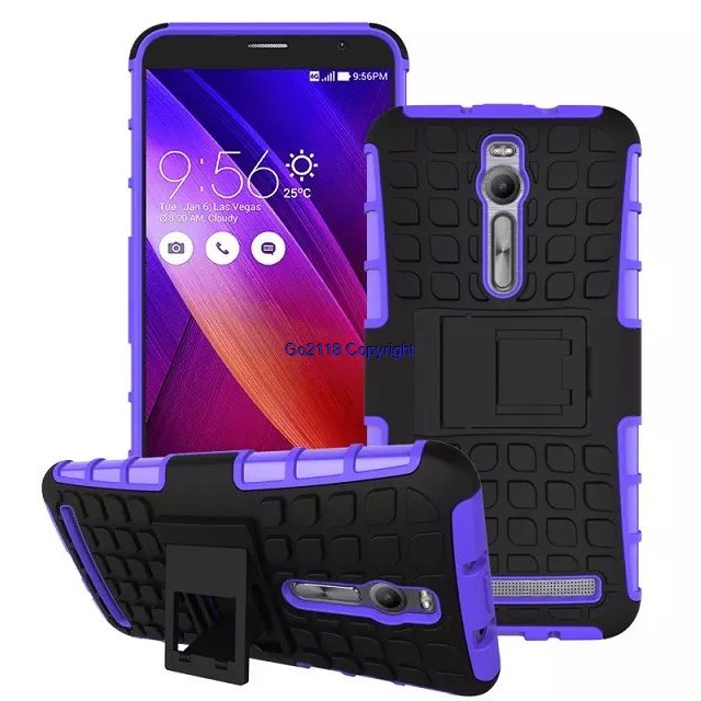 Zenfone 2 deluxe ze551ml Armor flip case casing cover
