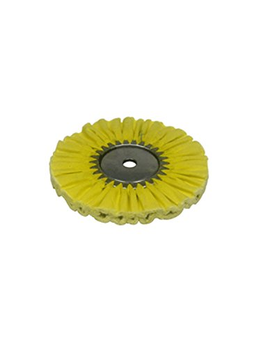 Zephyr AWY 58-10 FC4 Yellow 1 on 1 4 Fast Cut Airway Buffing wheel/from USA
