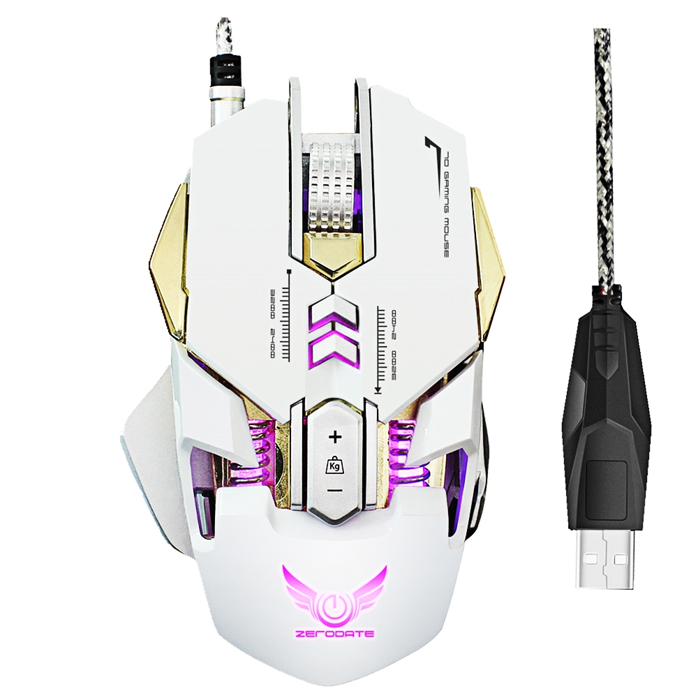 ZERODATE X300 Programmable Wired Gaming Mouse - ZERODATE X300 Professi
