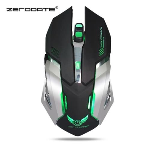 ZERODATE X70 DUAL-MODE GAMING MOUSE 2400DPI (BLACK)