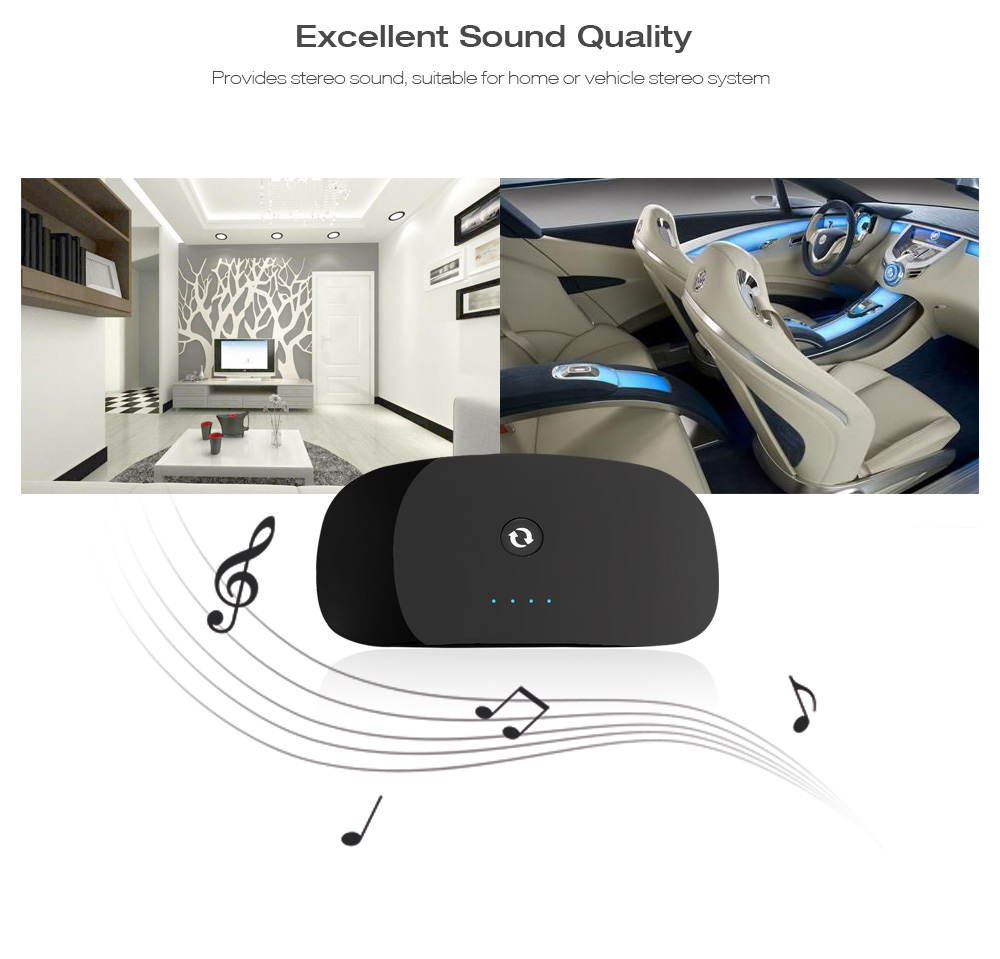 ZF - 370 Bluetooth Audio Receiver Transmitter 2-in-1 Adapter