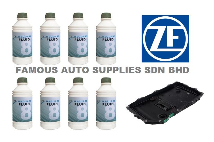 ZF Auto Trans Oil Pan Filter Kit GA8HP45Z BMW E70 E71 F10 F25 F30