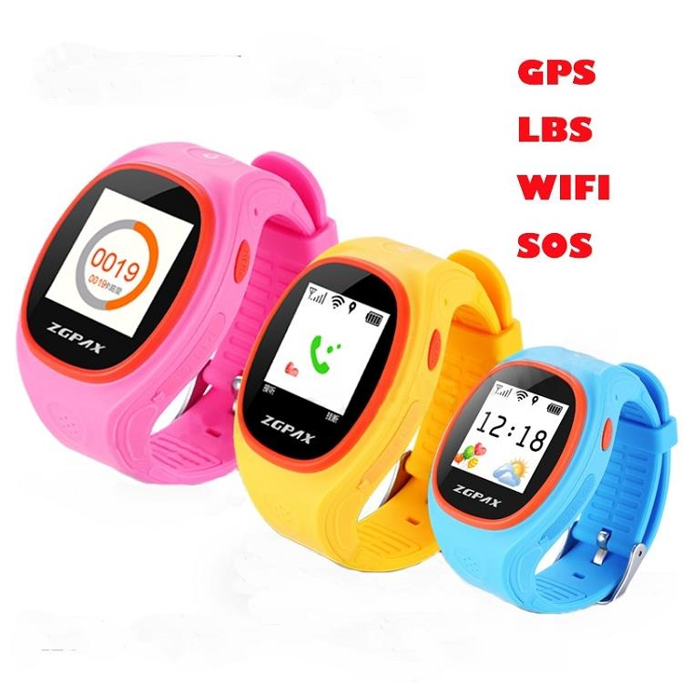 ZGPAX S866 Kids GPS Tracker Watch (WGPS-15B).