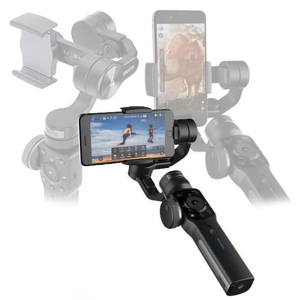 Zhiyun Smooth-4 3-Axis Gimbal Motorise Handheld Stabilizer for Smart P