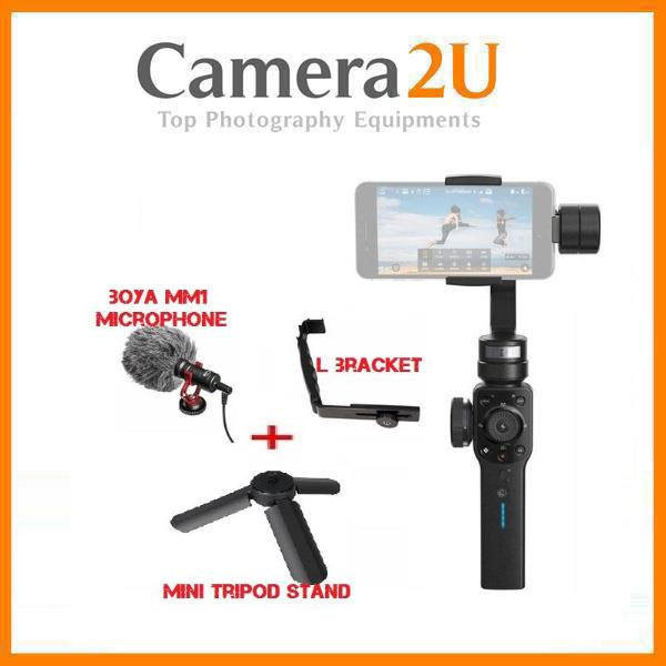 Zhiyun Smooth 4 Gimbal Stabilizer + Microphone Kit for Vlogging