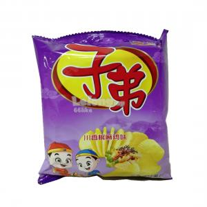 ZIDI POTATO CHIPS 18G CHUANGXIANG SPICY CHICKEN FLAVOUR(1 PACK&..