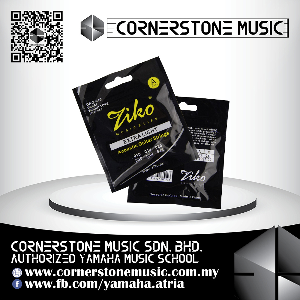 Ziko Acoustic Guitar String Set 1048 Extra Light Guitar Strings