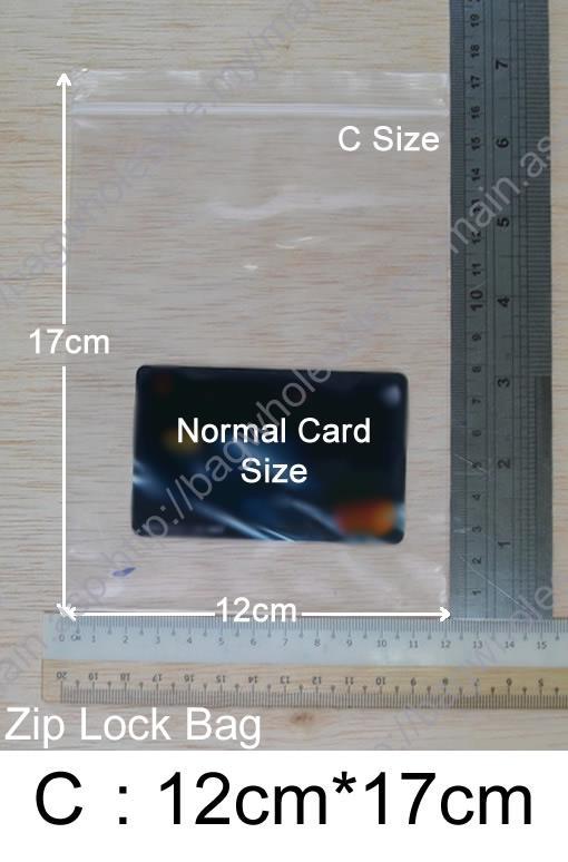 Zip lock bag 12cm x 17cm x 100pcs re end 322019 315 pm zip lock bag 12cm x 17cm x 100pcs resealable plastic bags size c reheart Images