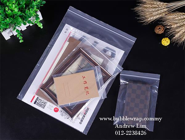Zip Lock Bag S1 4cm*6cm Resealable Plastic Bags 100pcs