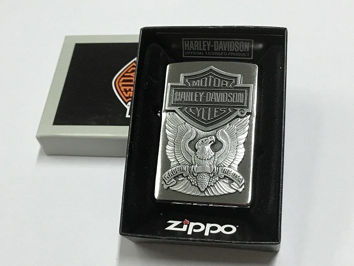 Zippo Lighter Harley Davidson Made in USA (200HD H284)