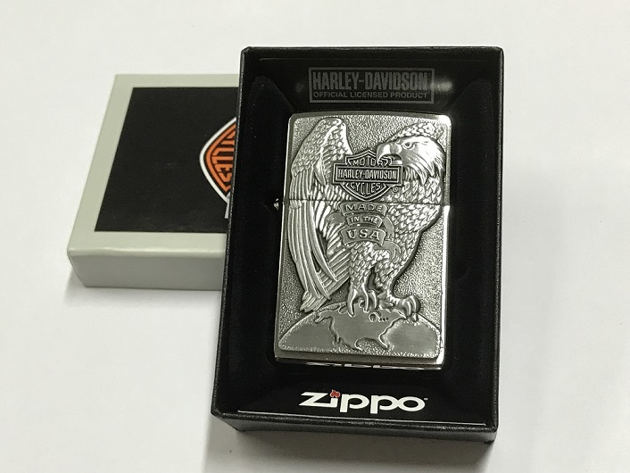 Zippo Lighter Harley Davidson Made in USA Eagle (200HD H231)