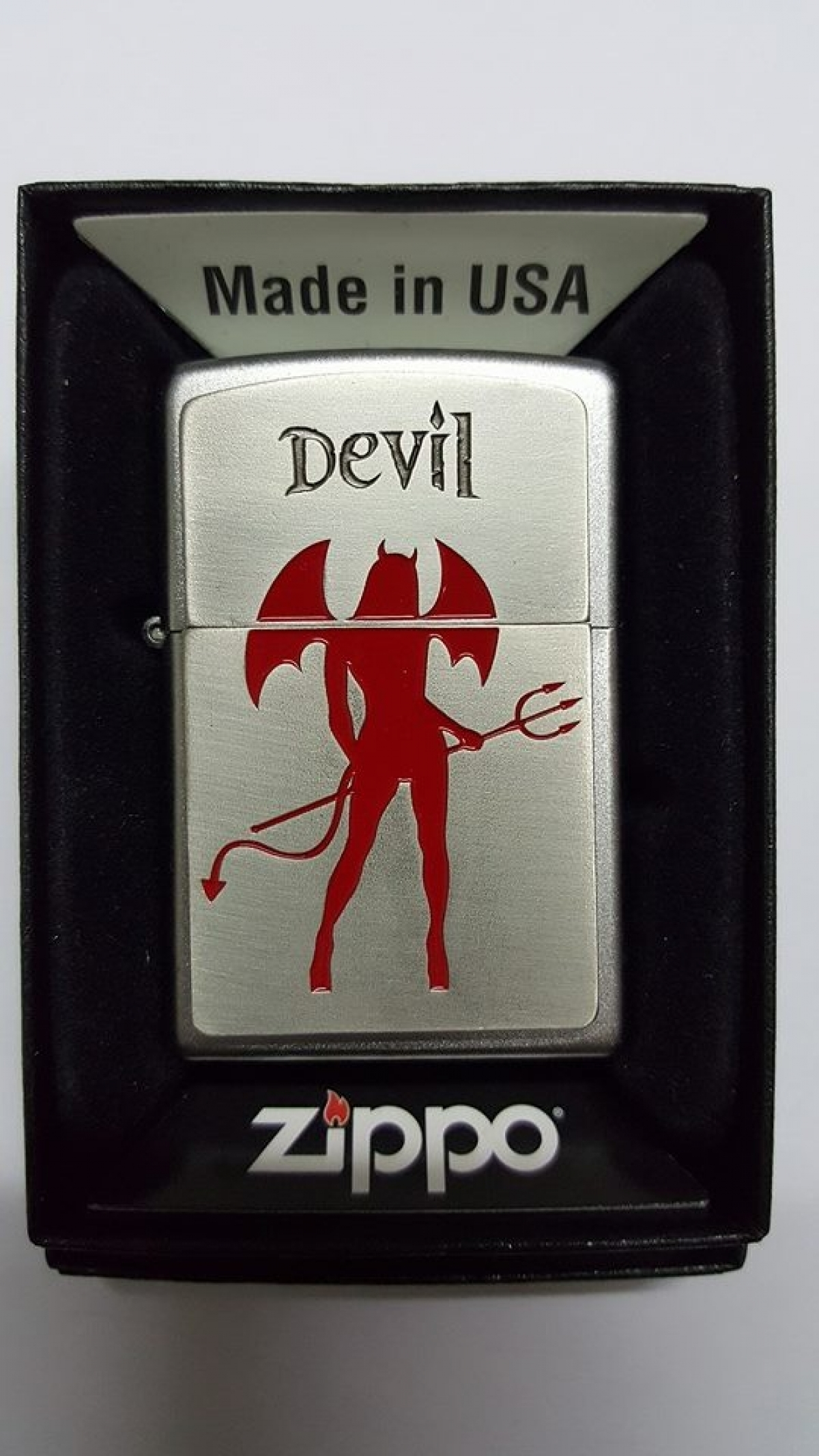 Zippo Lighter Hot Devil