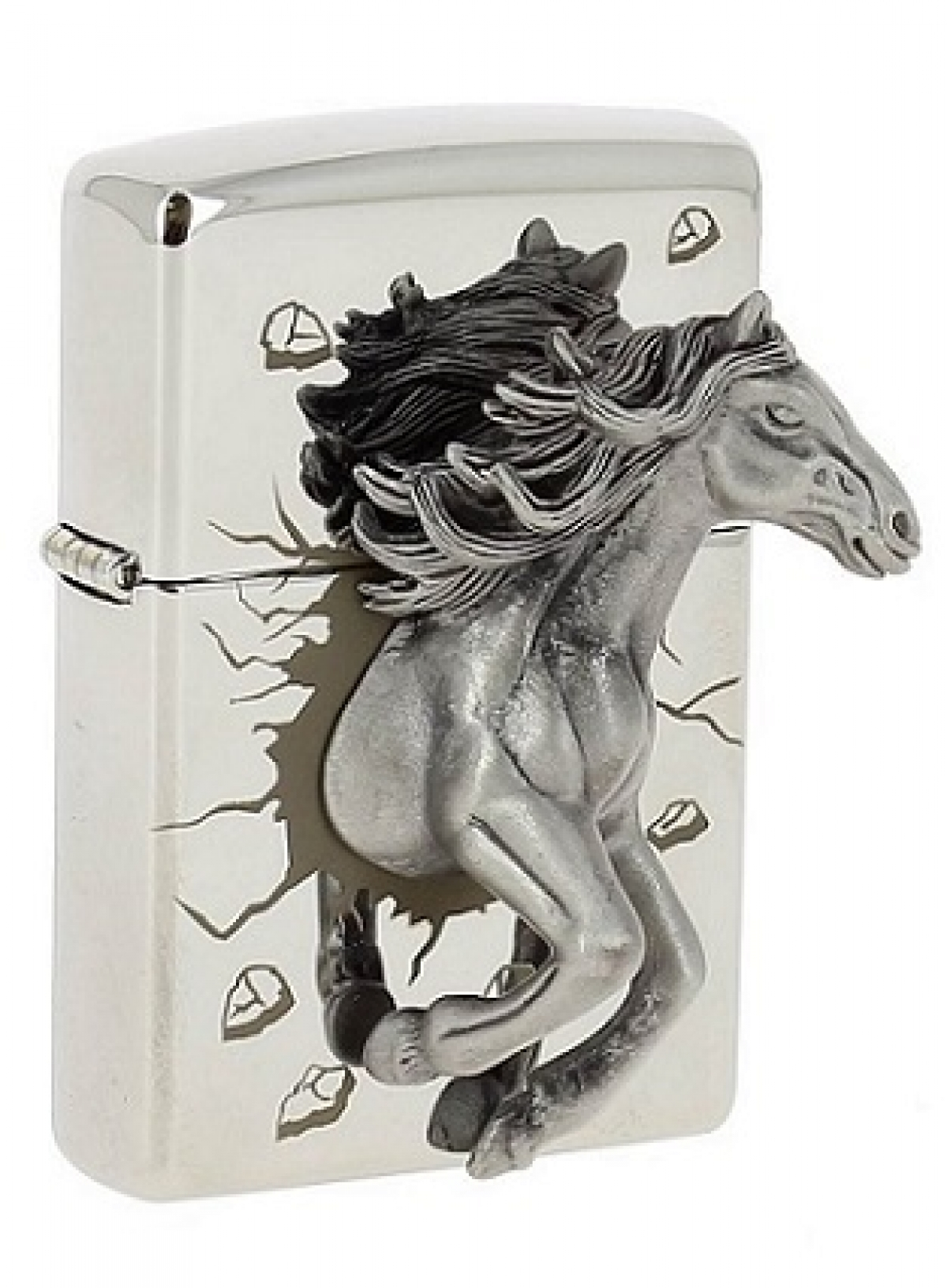 Zippo Lighter Limited Edition 3D Horse