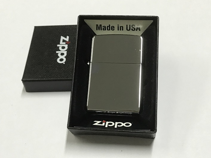 Zippo Lighter Reg High Polish Chrome (250)