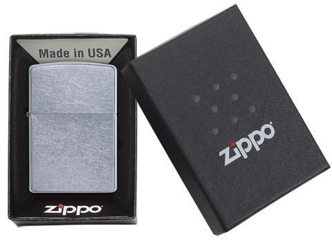 Zippo Lighter Regular Street Chrome (207)