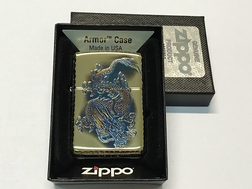 Zippo Lighter Swimming Dragon (ZBT-4-16D)